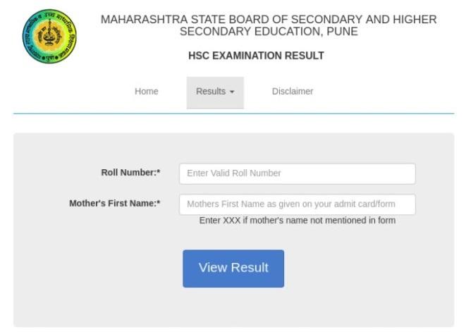 Maharashtra Board 12th Result 2021