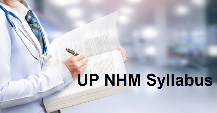 UP NHM CHO Syllabus 2021