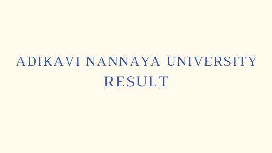 AKNU Degree Results 2021