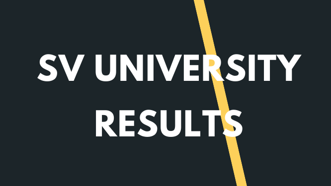 SVU Degree Results 2021