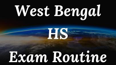 wb hs exam routine 2022