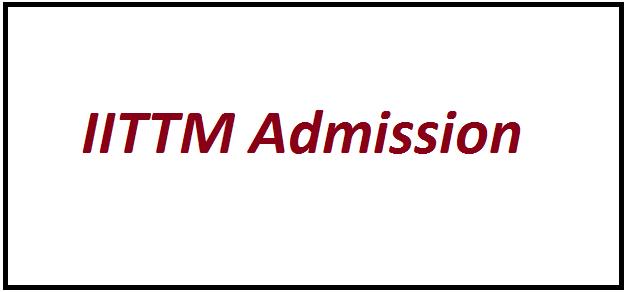 IITTM Admission 2021